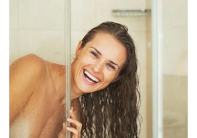 Shrnovací sprchové dveře