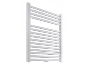 PRIMO-N/MM Koupelnový žebřík (radiátor) - bílý v. 764 mm, š. 600 mm, středové připojení