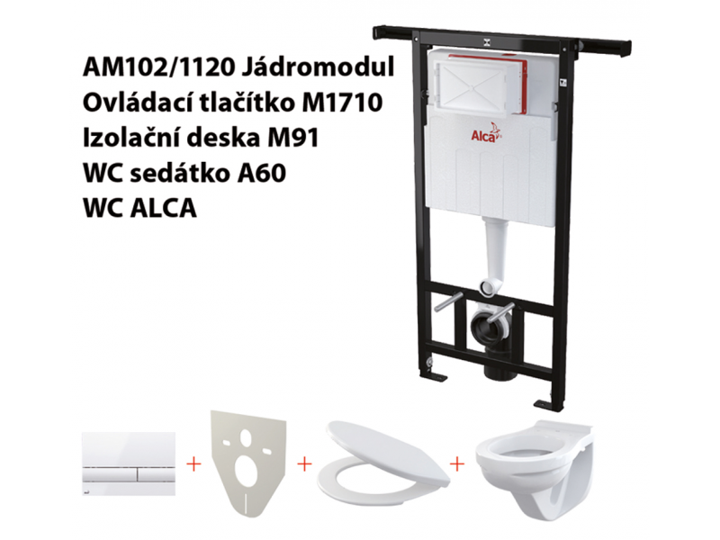 Set 5v1 JÁDROMODUL AlcaPlast AM102/1120 M270