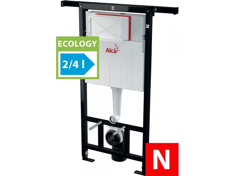 AM102/1120E AlcaPlast Jádromodul WC modul  Ecology pro suchou instalaci