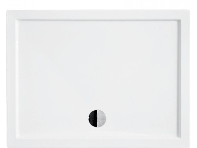 ALPINA 100x80 cm Olsen-Spa sprchová vanička obdélníková akrylátová