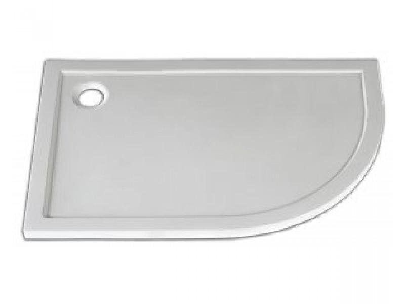 STONE 1290R L Arttec sprchová vanička čtvrtkruhová levá