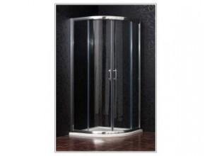 BRILIANT 100 clear NEW - Sprchový kout čtvrtkruhový
