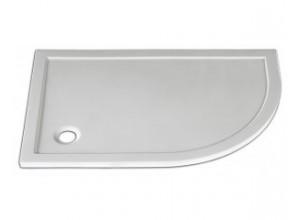 STONE 1080R L Arttec sprchová vanička čtvrtkruhová levá