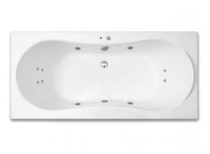 KRONA SURF 170 x 80 hydromasážní akrylátová vana