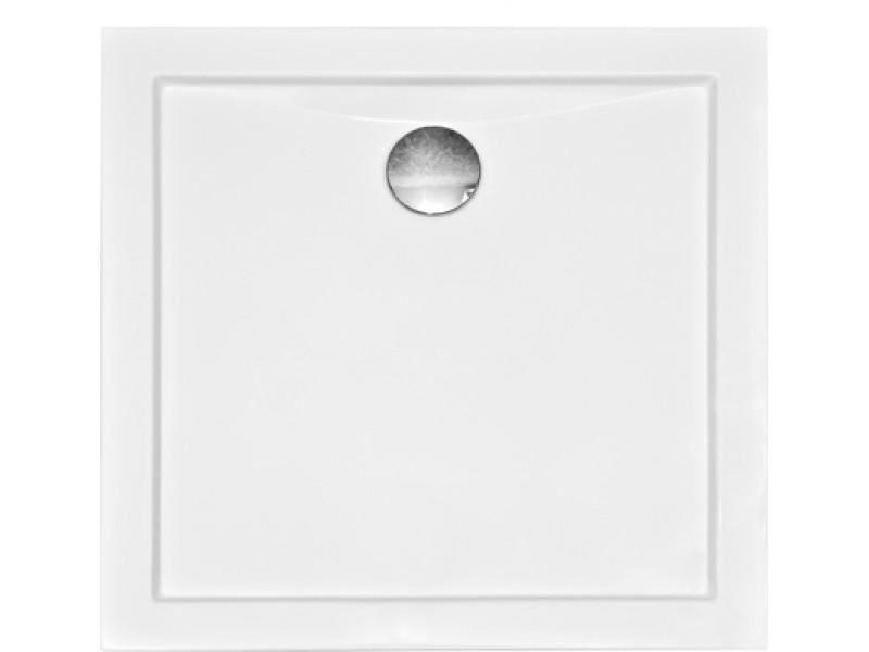 AQUARIUS 80x80 cm Olsen-Spa sprchová vanička čtvercová akrylátová