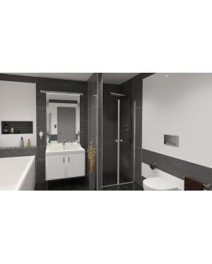 BETA 86 Grape Well Sprchové dveře do niky dvoukřídlé
