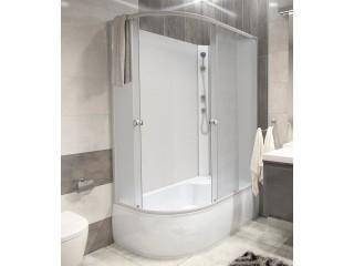 BIANCA 120 HIGH pravá Well Sprchový box