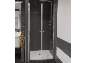 BETA 120 Čiré Well Sprchové dveře do niky dvoukřídlé