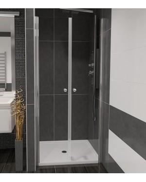 BETA 96 Čiré Well Sprchové dveře do niky dvoukřídlé