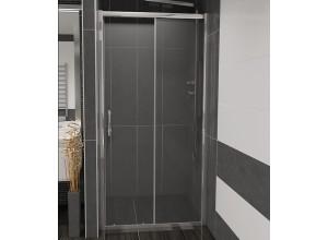 NICOL 140 čiré Well sprchové dveře do niky
