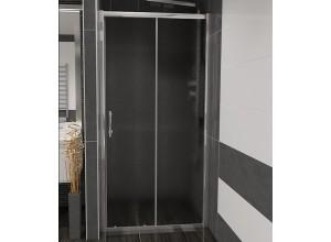NICOL 110 grape Well sprchové dveře do niky
