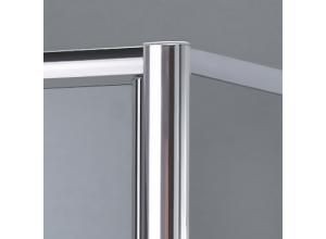 Sprchové dveře jednokřídlé s pevnou stěnou 100 cm SL13 1000 50 44