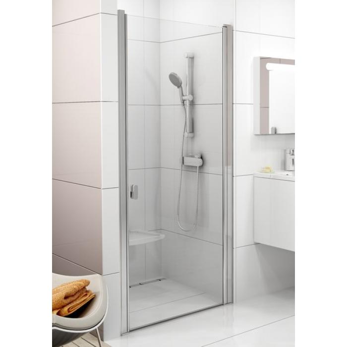 CSD1-90 TRANSPARENT Ravak Sprchové dveře jednodílné bright alu