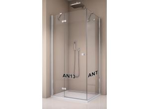 ANT 0800 50 07 SanSwiss Boční stěna sprchová 80 cm