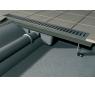APZ101 AlcaPlast Liniový podlahový žlab LOW s okrajem