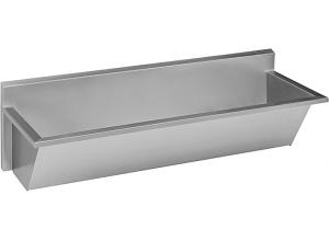 SLUN 55 Žlab mycí lékařský délka 1500mm - nerez