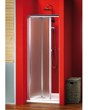 Sigma SG3849 gelco Sprchové dveře dvoudílné zalamovací - sklo Brick