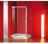 Sigma SG1242 Gelco Sprchové dveře dvoudílné posuvné 120x190 cm - sklo čiré