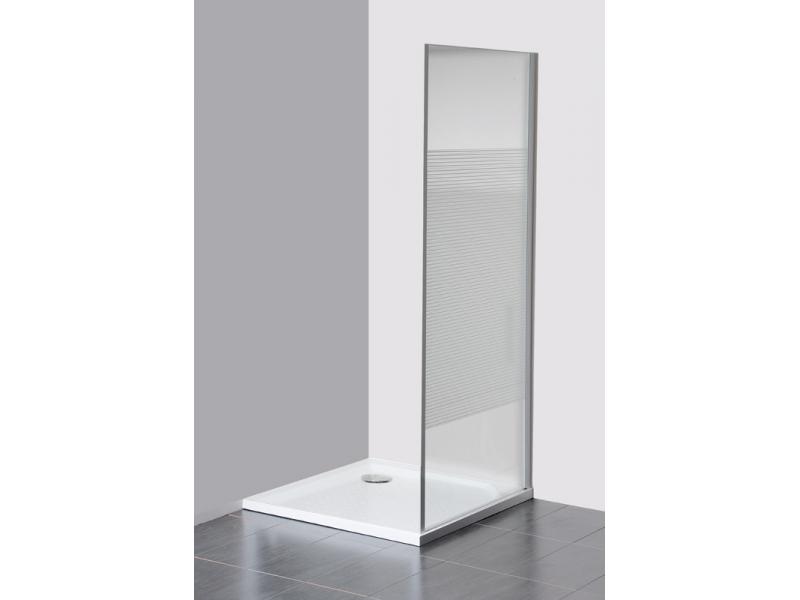 ETERNO GE3390 Gelco Boční stěna sprchová - sklo Strip