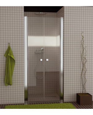 SL2 1200 50 07 SanSwiss Sprchové dveře dvoukřídlé 120 cm