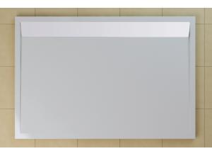 WIA 80 120 04 04 SanSwiss Sprchová vanička obdélníková 80×120 cm bílá, kryt bílý