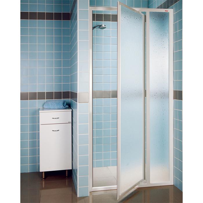 RAVAK SDOP-90 PEARL Sprchové dveře jednokřídlé 90 cm bílé