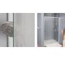 SL1 0900 50 22 SanSwiss Sprchové dveře jednokřídlé 90 cm
