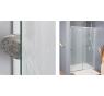 SL1 0750 50 44 SanSwiss Sprchové dveře jednokřídlé 75 cm