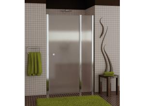 SL13 1200 50 22 Sprchové dveře jednokřídlé s pevnou stěnou 120 cm