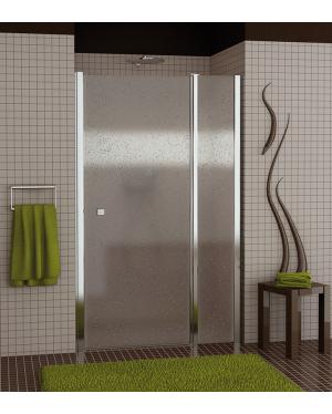 SL13 1200 50 44 Sprchové dveře jednokřídlé s pevnou stěnou 120 cm