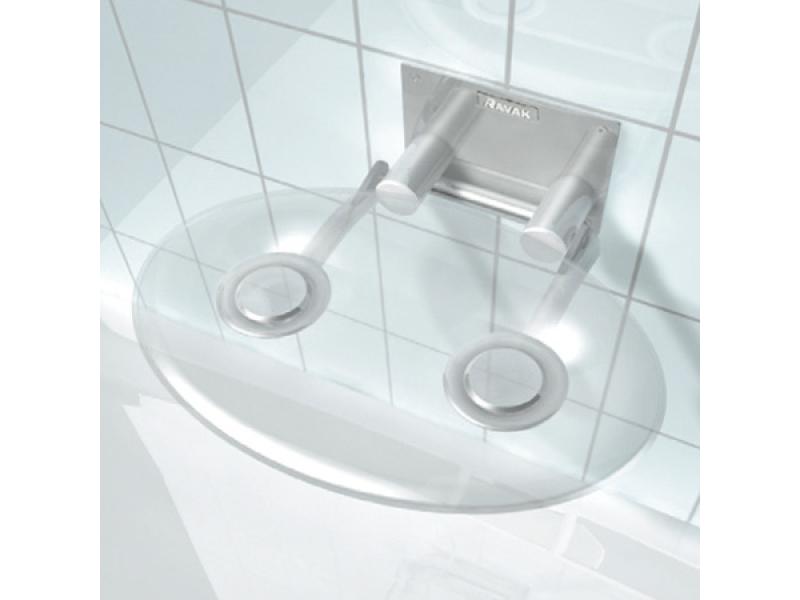 RAVAK OVO P CLEAR Sprchové sedátko