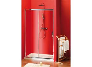 Sigma SG1240 Gelco Sprchové dveře dvoudílné posuvné 100x190 cm - sklo čiré