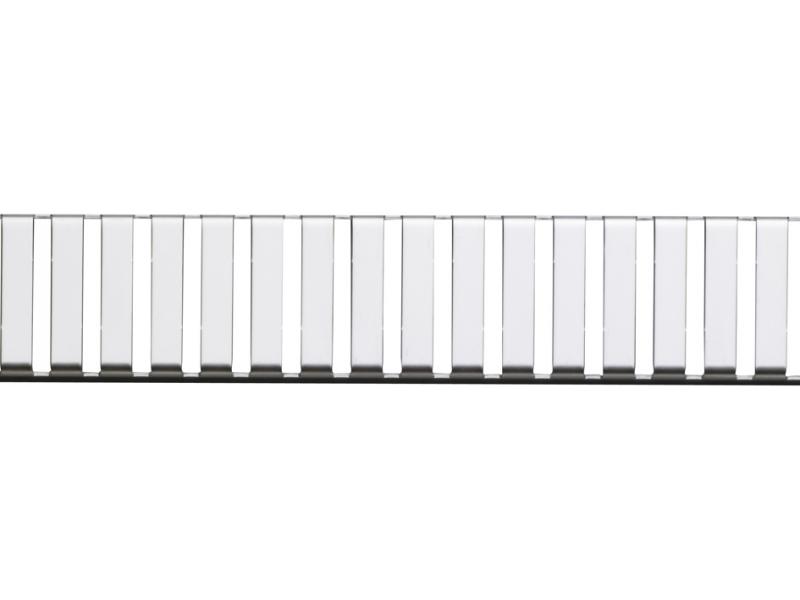 LINE-650L Alca Plast Rošt pro liniový podlahový žlab - nerez lesk