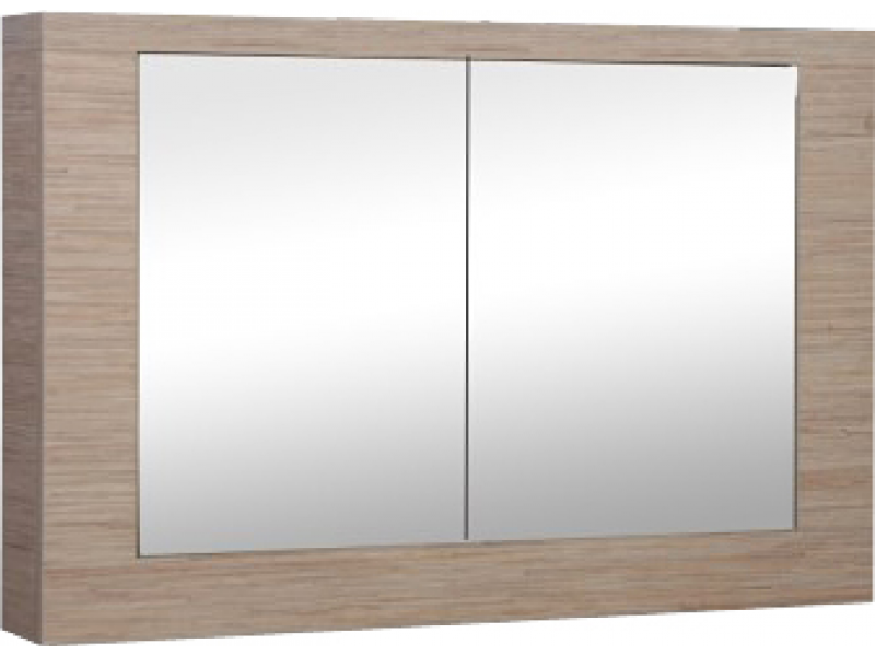 VENECJA/LU 80/T Strama Zrcadlo s úložným prostorem - tráva