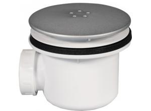 SIWM.01 SanSwiss Sifon pro sprchovou vaničku 90 mm - satén