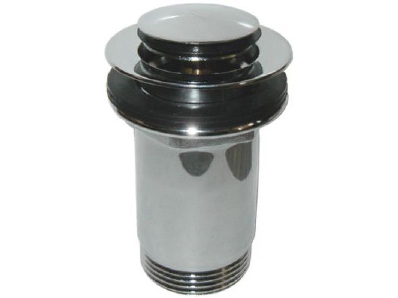 Umyvadlová výpusť QUICK CLAC kovová-chrom
