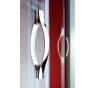 LEGRO GL1280 Gelco Sprchové dveře otočné - sklo čiré