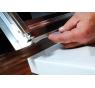 Sigma SG3261 Gelco Sprchové dveře dvoudílné posuvné 110x190 cm - sklo Brick