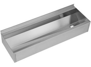 SLUN 10P Žlab hranatý opláštěný délka 1250mm - nerez