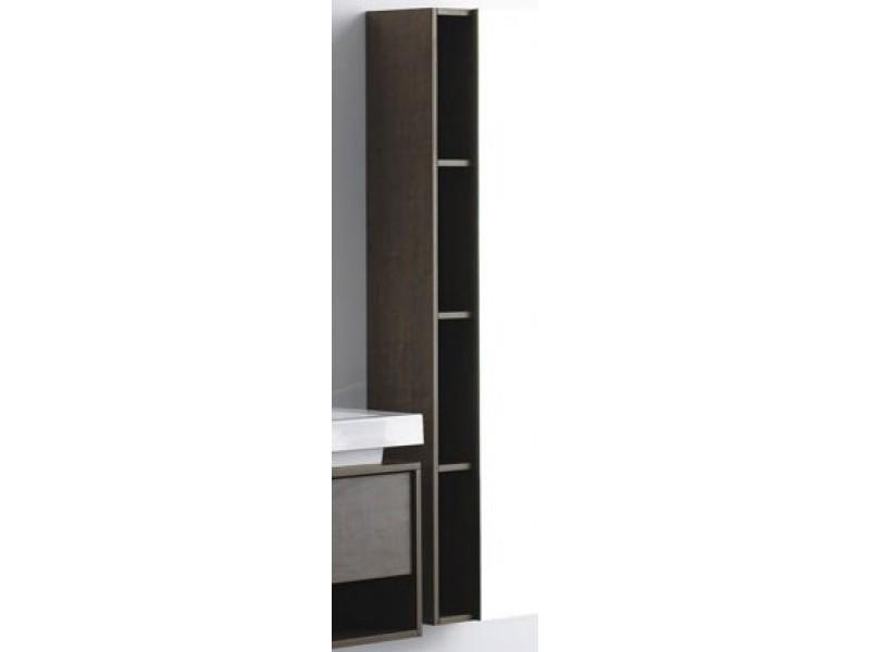 T 700 Světlý dub Hopa koupelnová skříňka boční s policemi