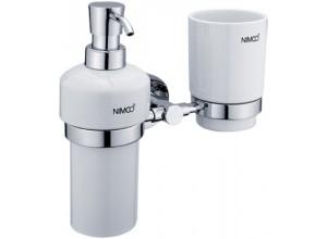 UNIX UN 1305831K-26 Nimco Dávkovač mýdla a držák pohárku