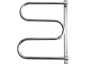 ES2 - nerez Olsen-Spa koupelnový sušák ručníků - otočný