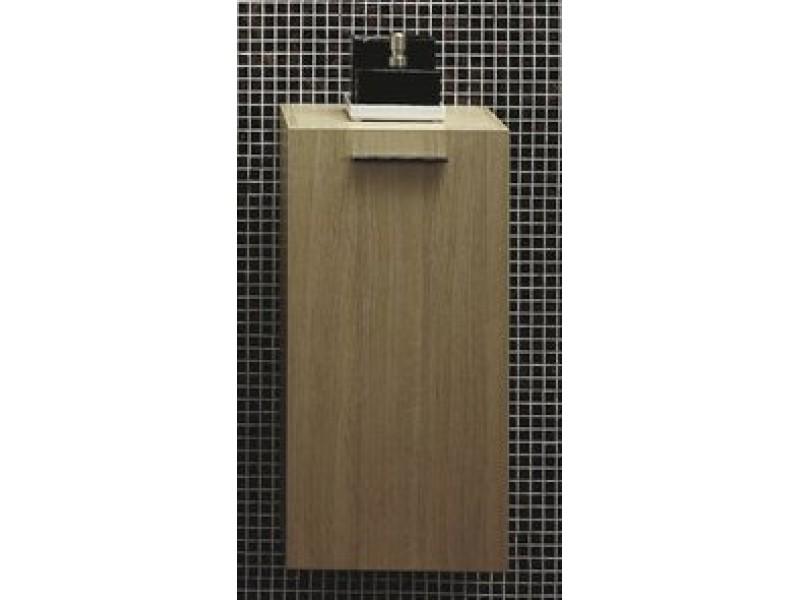T 580 Tmavý ořech Hopa koupelnová skříňka boční
