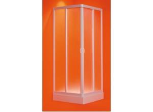 ANGELO 100-95 × 100-95 × 185 cm Olsen-Spa sprchová zástěna