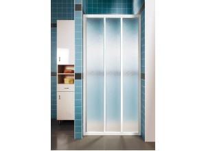 ASDP3-90 PEARL RAVAK Sprchové dveře třídílné 90 cm bílé