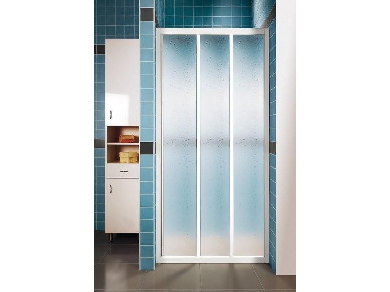 ASDP3-100 PEARL RAVAK Sprchové dveře třídílné 100 cm bílé