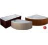 Dřevěný panel čelní wenge pro vany HOPA