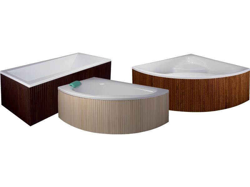 Dřevěný panel čelní pro vany HOPA