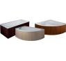 Dřevěný panel boční wenge pro vany HOPA